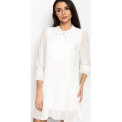Sukienki: Biała Sukienka Romantic Love