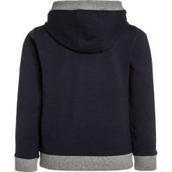 BOSS Kidswear Bluza rozpinana bleu cargo. Niebieskie bluzy chłopięce rozpinane marki BOSS Kidswear, z bawełny. W wyprzedaży za 271,20 zł.