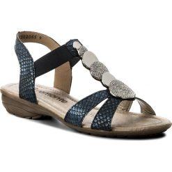 Rzymianki damskie: Sandały REMONTE BY RIEKER – R3638-14 Blue