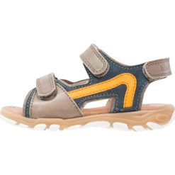 Sandały męskie skórzane: Bisgaard Sandały petrolio
