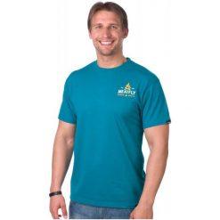 T-shirty męskie: Meatfly T-Shirt Męski Explore S Niebieski