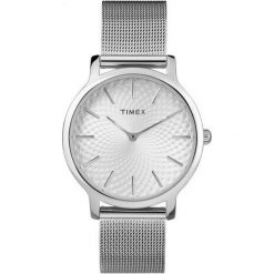 Zegarki damskie: Zegarek Timex Damski TW2R36200 Metropolitan 34 Slim srebrny