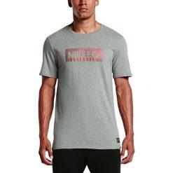 Nike Koszulka męska F.C. Color Shift Block Tee szary r. XL. Szare koszulki sportowe męskie Nike, m. Za 97,11 zł.