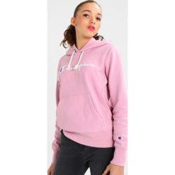 Bluzy rozpinane damskie: Champion Reverse Weave CLASSIC HOODIE LOGO CHEST Bluza z kapturem mau