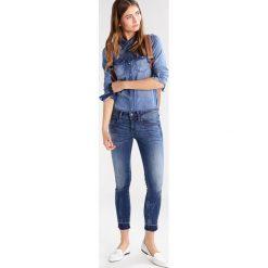 GStar LYNN MID SKINNY RP ANKLE  Jeans Skinny Fit elto superstretch. Szare jeansy damskie relaxed fit marki G-Star. W wyprzedaży za 363,35 zł.