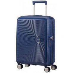 American Tourister Walizka Soundbox 55, Granatowy. Niebieskie walizki marki American Tourister. W wyprzedaży za 449,00 zł.
