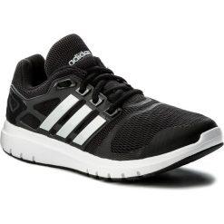 Buty adidas - Energy Cloud V CG3963 Cblack/Msilve/Carbon. Czarne buty do biegania damskie Adidas, z materiału. W wyprzedaży za 199,00 zł.