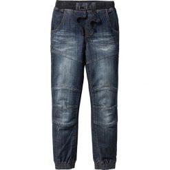 """Odzież dziecięca: Mocne dżinsy Loose Fit z wzmocnionymi kolanami bonprix ciemnoniebieski """"stone"""""""