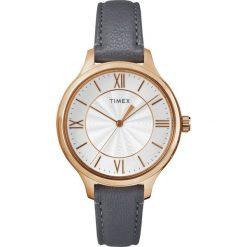 Zegarek Timex Damski TW2R27700 Peyton Rose Gold szary. Czerwone zegarki damskie Timex. Za 339,80 zł.