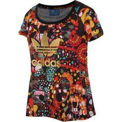 T-shirty damskie: T-shirt w kolorze czerwonym ze wzorem