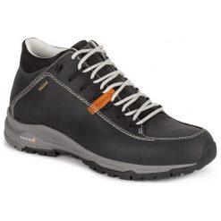 Buty trekkingowe męskie: Aku Buty Turystyczne 752 Nemes Fg Mid Gtx Dark Grey-Black 10,5 (45,0)