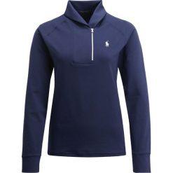 Polo Ralph Lauren Golf EXTREME  Bluzka z długim rękawem french navy. Niebieskie topy sportowe damskie Polo Ralph Lauren Golf, xs, z elastanu, z długim rękawem. W wyprzedaży za 363,30 zł.