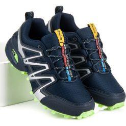 Buty trekkingowe męskie: Buty trekkingowe ax boxing niebieskie  niebieskie