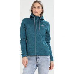The North Face KUTUM HOODIE  Kurtka z polaru blue coral heat. Różowe kurtki sportowe damskie marki The North Face, m, z nadrukiem, z bawełny. Za 299,00 zł.
