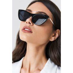 Okulary przeciwsłoneczne damskie: Le Specs Okulary przeciwsłoneczne Enchantress – Black