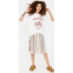 T-shirty damskie: Koszulka z motocyklowym nadrukiem