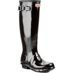 Kalosze HUNTER - Original Gloss W23616 Black. Czarne buty zimowe damskie Hunter, z kauczuku. Za 599,00 zł.