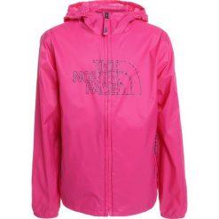 The North Face FLURRY WIND  Kurtka przeciwdeszczowa petticoat pink. Czerwone kurtki dziewczęce przeciwdeszczowe The North Face, z materiału. Za 199,00 zł.