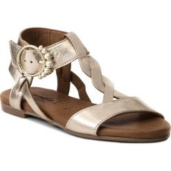 Rzymianki damskie: Sandały TAMARIS – 1-28153-30 Gold 940