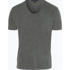 Drykorn - T-shirt męski – Ravy, czarny. Niebieskie t-shirty męskie marki DRYKORN, m, z dekoltem karo. Za 229,95 zł.