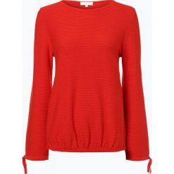 Swetry klasyczne damskie: talk about – Sweter damski, czerwony