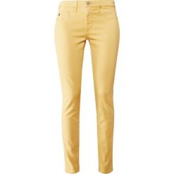Boyfriendy damskie: AG Jeans Spodnie materiałowe yellow