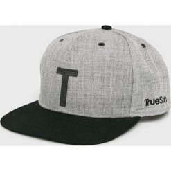 True Spin - Czapka. Szare czapki z daszkiem męskie marki True Spin, z poliesteru. W wyprzedaży za 29,90 zł.