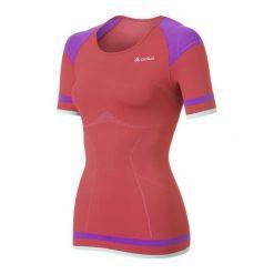 Bluzki sportowe damskie: Odlo Koszulka damska Shirt s/s crew neck Evolution Light Trend czerwona r. XS