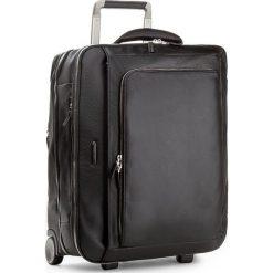 Mała Materiałowa Walizka PIQUADRO - BV2960MO N. Czarne walizki Piquadro, z materiału, małe. W wyprzedaży za 2309,00 zł.
