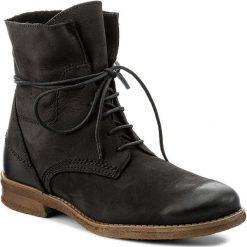 Botki LASOCKI - G322 Czarny. Czarne buty zimowe damskie Lasocki, z materiału, na obcasie. W wyprzedaży za 125,00 zł.