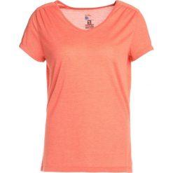 Salomon ELLIPSE  Tshirt basic nasturtium. Pomarańczowe t-shirty damskie Salomon, xs, z poliesteru. Za 129,00 zł.