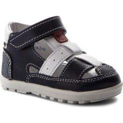 Sandały męskie skórzane: Sandały BARTEK – 11694-3/X15 Niebiesko Biały