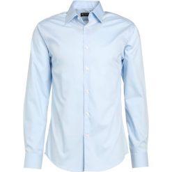Tiger of Sweden FARRELL SLIM FIT Koszula biznesowa light blue. Brązowe koszule męskie slim marki Tiger of Sweden, m, z wełny. Za 549,00 zł.