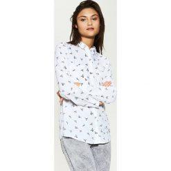 Koszula z wiskozy - Biały. Białe koszule damskie House, l, z wiskozy. Za 59,99 zł.