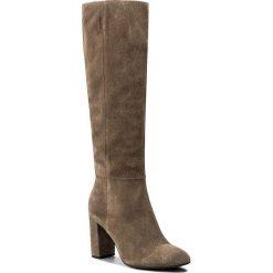 Buty zimowe damskie: Kozaki NESSI - 911/N Beż W1