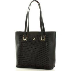 MONNARI Stylowa torebka na ramię czarny. Czarne torebki klasyczne damskie Monnari, ze skóry. Za 169,00 zł.