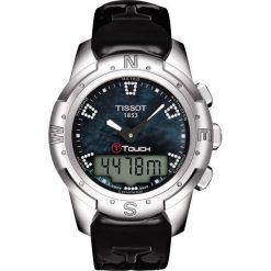 PROMOCJA ZEGAREK TISSOT TOUCH COLLECTION T047.220.46.126.00. Białe zegarki damskie TISSOT. W wyprzedaży za 4206,40 zł.