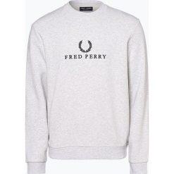 Bluzy męskie: Fred Perry - Męska bluza nierozpinana, szary