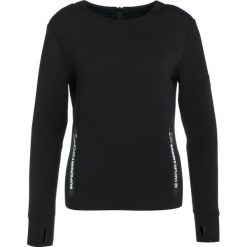 Bluzy damskie: Superdry SPORT GYM TECH LUXE CREW Bluza black