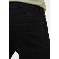 Topman BLACK RIPPED KNEE STRETCH SKINNY FIT JEANS Jeans Skinny Fit black. Czarne rurki męskie Topman. Za 229,00 zł.