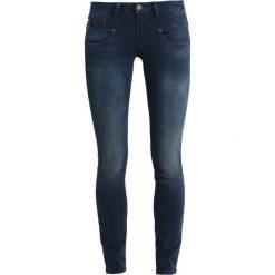 Freeman T. Porter ALEXA  Jeansy Slim Fit fetrol. Niebieskie jeansy damskie relaxed fit marki Freeman T. Porter. Za 419,00 zł.