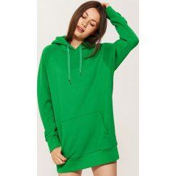 Długa bluza z kapturem - Zielony. Zielone bluzy z kapturem damskie House, m, z długim rękawem, długie. W wyprzedaży za 49,99 zł.