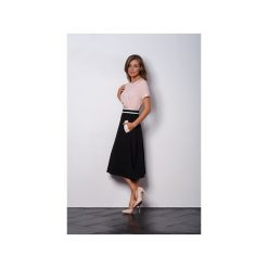 Spódnice wieczorowe: Czarna rozkloszowana spódnica z kieszeniami VEGA