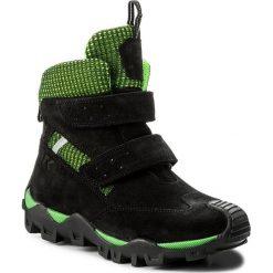 Buty zimowe chłopięce: Śniegowce BARTEK – 27395-B1A Czarno Zielony