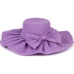 Kapelusz damski Gloria fioletowy (cz13021). Fioletowe kapelusze damskie Art of Polo. Za 32,73 zł.