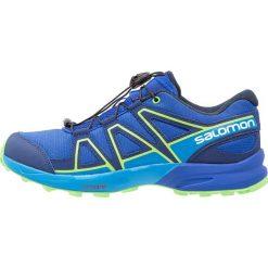 Salomon SPEEDCROSS Obuwie do biegania Szlak surf the web/cloisonné/green flash. Niebieskie buty do biegania damskie marki Salomon, z gumy, salomon speedcross. Za 329,00 zł.