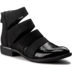 Botki SERGIO BARDI - Dionisia FS127220317RB 601. Czarne buty zimowe damskie Sergio Bardi, z lakierowanej skóry, na obcasie, na zamek. W wyprzedaży za 209,00 zł.
