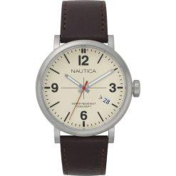 Nautica - Zegarek. Czarne zegarki męskie marki Fossil, szklane. Za 499,90 zł.