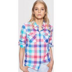 Koszula w kratę - Niebieski. Niebieskie koszule męskie marki Cropp, l. W wyprzedaży za 29,99 zł.