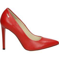 Czółenka - 17-41 P R J18. Różowe buty ślubne damskie Venezia, ze skóry. Za 199,00 zł.